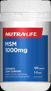 Nutra-Life MSM 1000mg 120 Cap