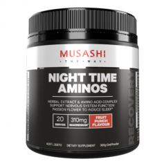 Musashi Night Time Aminos