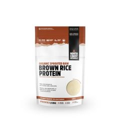 North Coast Naturals Organic Sprouted Raw Brown Rice Protein 340g