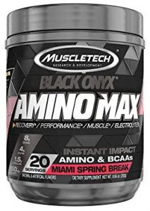 Muscletech Amino Max Black Onyx 07/20 Dated