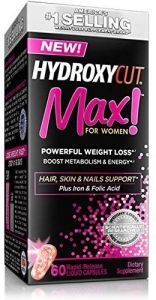 Hydroxycut Max For Woman + Collagen Bonus Size 80cap 09/20 Dated