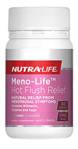 Nutra-Life Meno-Life Hot Flush Relief 30 Tablets