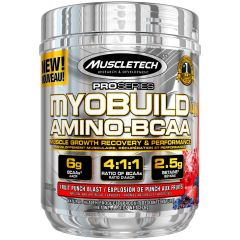 Muscletech MyoBuild Amino + BCAA  30 Serve Fruit Punch