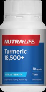 Nutra-Life Turmeric 18500+ Ultra Strength 30 Cap