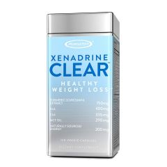 Muscletech Xenadrine Clear - Healthy Weight Loss - 120 Veggie Caps