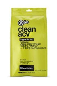 BSC Clean ACV 80 Capsules