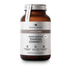 Wild Nutrition Food Grown Thyroid Connect 60 Cap