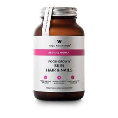 Wild Nutrition Food Grown Skin Hair & Nails 60 Cap