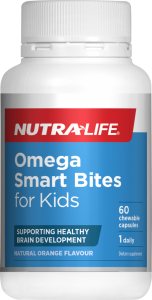 Nutra-Life Omega Smart Bites 60 Cap