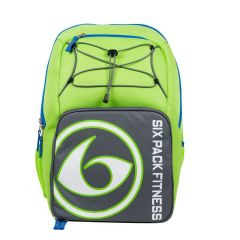 Six Pack Fitness Prodigy Pursuit Back Pack 300 - Lime Green/Grey/Blue