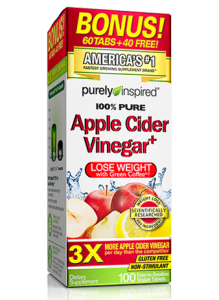 Purely Inspired Apple Cider Vinegar -  The Perfect Weight Loss Duo