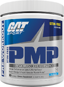 GAT PMP - Stim Free Blue Raspberry - 03/20 Dated