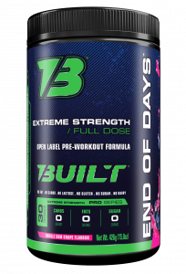 Built End of Days Pre-Workout - Most Complete Formula!