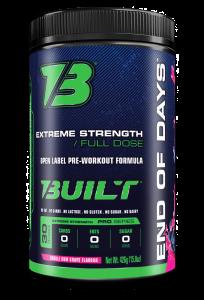Built End of Days Pre-Workout - Most Complete Formula!