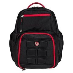 Six Pack Expedition 300 Back Pack - Black/Red