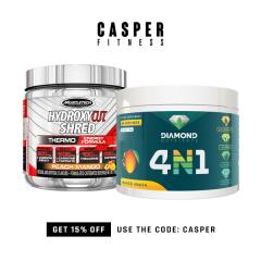 Casper Fitness Basic Fat Burner Combo