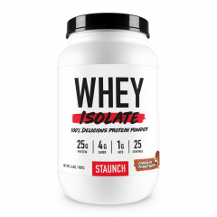 Staunch Nutrition Whey Protein Isolate 2lb