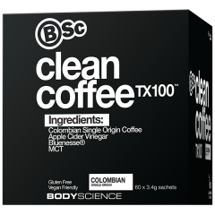 BSC Clean Coffee TX100 60 Serve