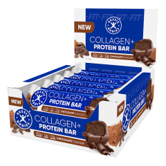 Aussie Bodies FIT Collagen+ Protein Bar Box of 12