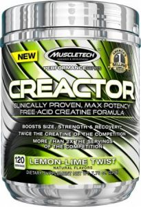 MuscleTech Creactor 120 serve 05/20 Dated
