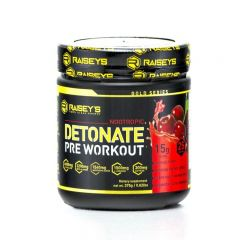 Raiseys Detonate Nootropic Detonate Pre-Workout
