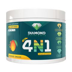 Diamond Nutrients 4N1 60 Serve - Health Booster (V2) - Infused With Greens!