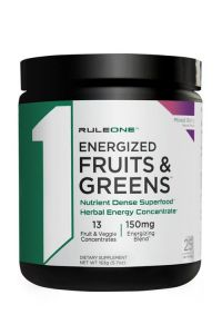 Rule 1 Energized Fruits & Greens 25 Serve