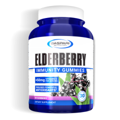 Gaspari Elderberry Gummies 30 Serve