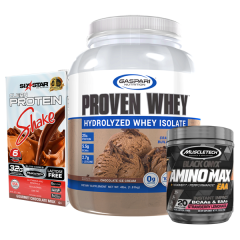 Proven Whey Isolate 4lb - Combo Deal