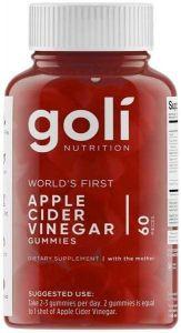 Goli Apple Cider Vinegar Gummies 60 Serve