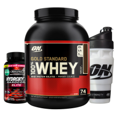 Gold Standard Whey 5lb + Hydroxycut Combo