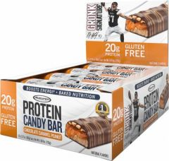 MT Protein Candy Bar Chocolate Caramel Peanut 12x60g
