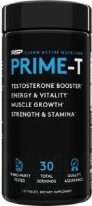 Rsp Nutrition Prime-t, 120 tab