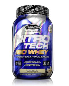Nitro-Tech 100% Iso Whey 1.8lb