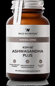 Wild Nutrition KSM-66 Ashwagandha Plus 60 Cap