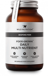 Wild Nutrition Food Grown Daily Multi Nutrient (Mens) 60 Cap