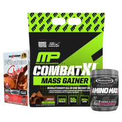 MusclePharm Combat XL 12lb - Combo Deal - 1
