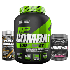 MusclePharm Combat 100% Whey 5lb - Overstocked Deal