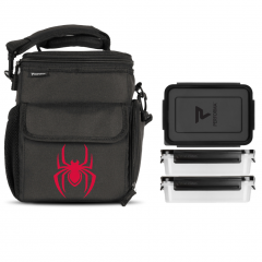Performa 3 Meal Cooler Bag Spiderman (Miles Morales)