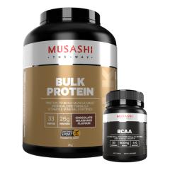 Musashi Bulk Mass Gaining Protein 2kg