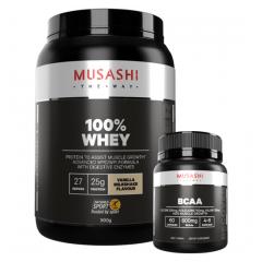 Musashi 100% Whey 909g