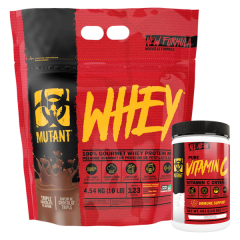 Mutant Whey New & Improved 10lb