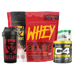 Mutant Whey 5lb New & Improved Combo Deal