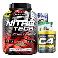 Muscletech Nitro-Tech 4lb Combo Deal