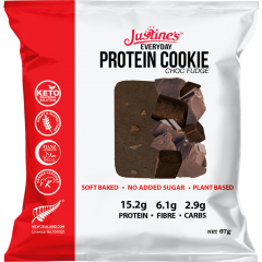 Justines Everyday Keto Protein Cookie box of 12