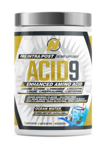 Ntel ACID 9 [Advanced Amino] 30 Serve 05/20 Dated 30 Serve