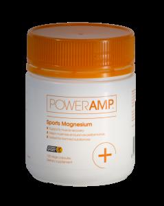 PowerAmp Sports Magnesium 120 Vege Capsules