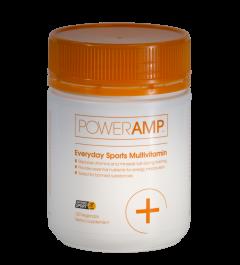 PowerAmp Everyday Sports Multivitamin 120 Vege Caps