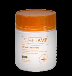 PowerAmp Turmeric Recovery 60 Vege Caps