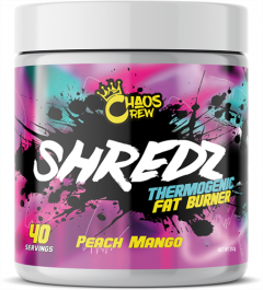 Chaos Crew Shredz Thermogenic Fat Burner